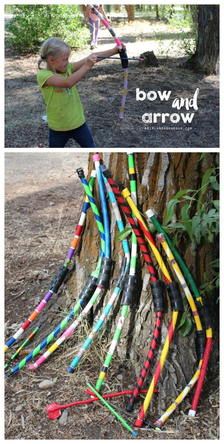 bow and arrow diy