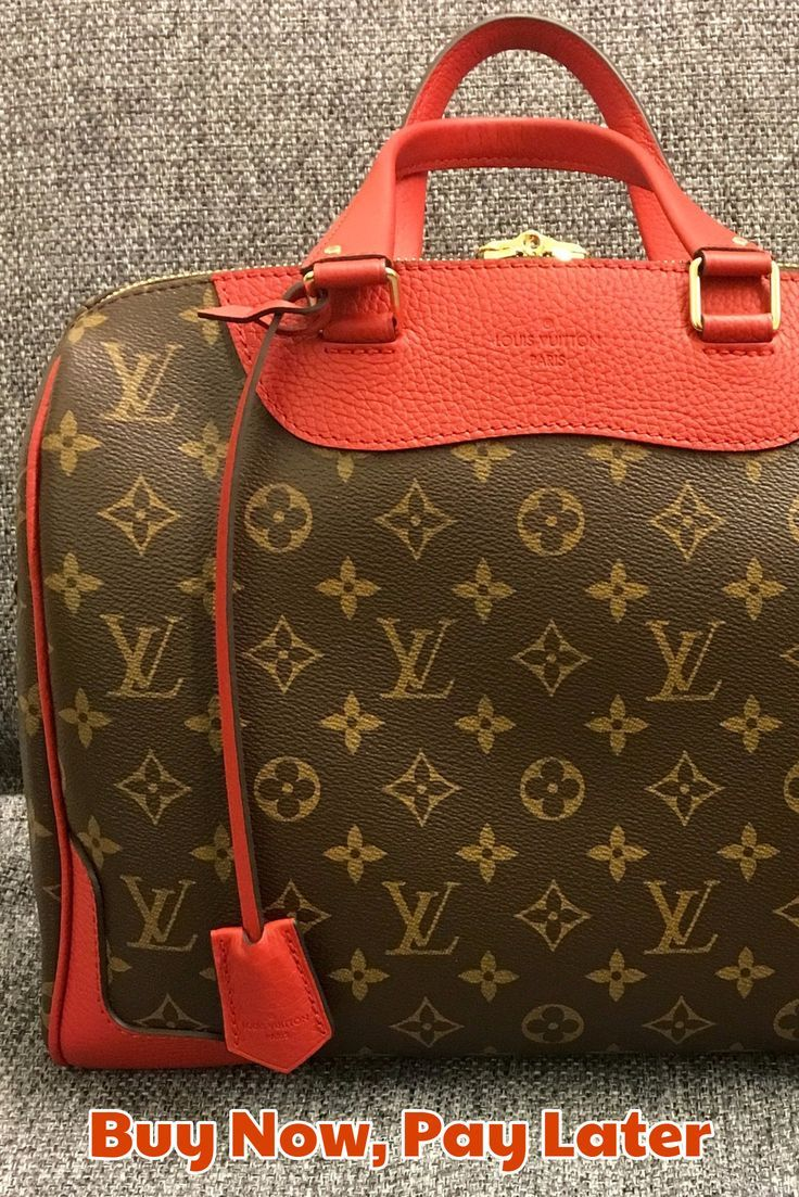 I think every girl's dream is to own a real Louis Vuitton handbag! But the cost of a new Louis Vuitton bag costs more than most people pay for three months of rent! Even the price of a used Louis Vuitton handbag is too much for the average fashionista. Luckily, we found the following online stores that sell new and pre-loved Louis Vuitton handbags and also offer deferred billing or payment plans, so you can buy now and pay later!