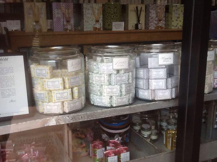 Soap in jars ..simple ..love