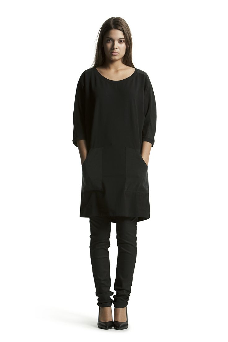 Dante Tunic with Daniella HW Zip Jeans