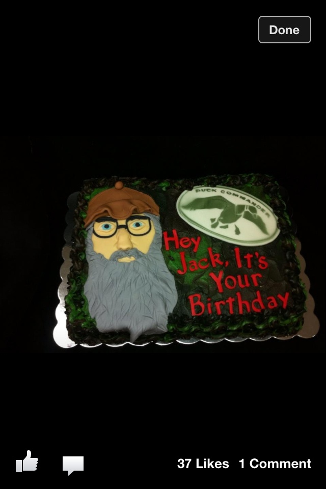 Jeff Birthday Cake