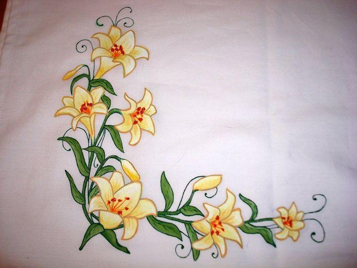Pintar manteles en tela buscar con google manteles - Manteles de tela ...