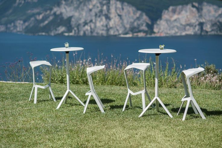 PLANK MIURA stools and tables, design Konstantin Grcic.