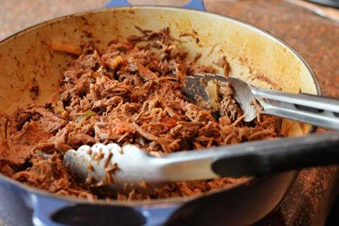 barbacoa from beef arm roast - makes about 10 servings