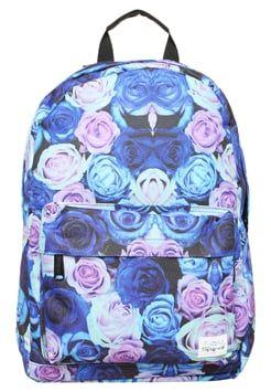 Spiral Bags - Reppu - roses/blue