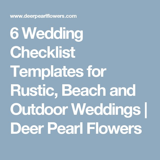 The 25+ best Wedding checklist template ideas on Pinterest - wedding checklist template