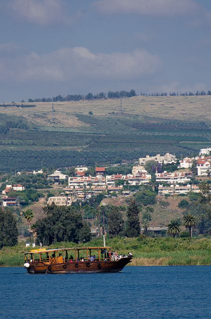 Beautiful Sea of Galilee - http://www.travelandtransitions.com/destinations/destination-advice/asia/