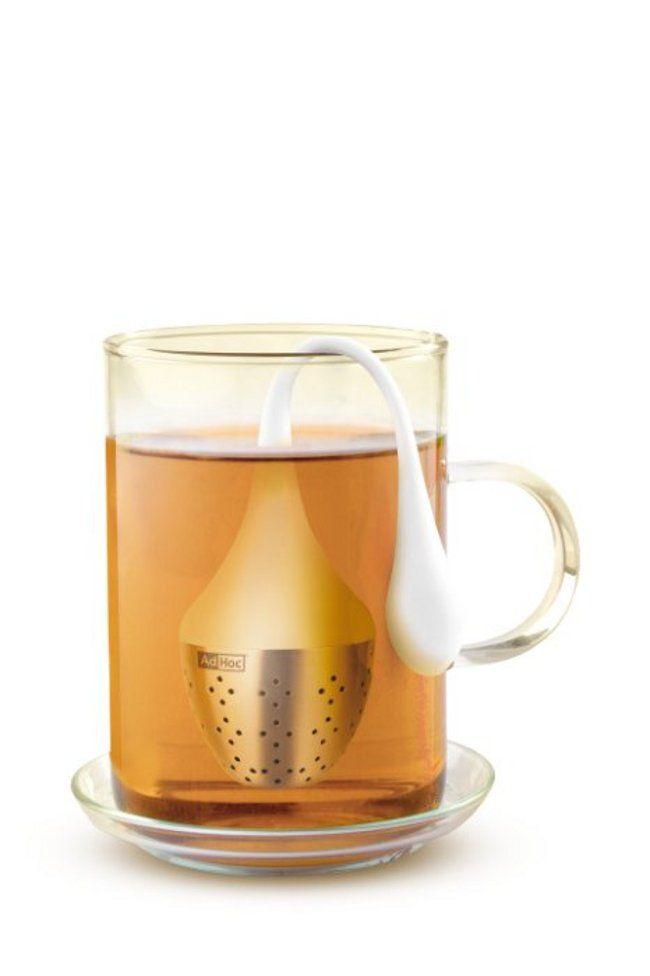 Een mooi vormgegeven thee-ei voor het maken van een perfect kopje thee!  Categorie : Koken & Tafelen Sub categorie : Keukenaccessoires Merk : Ad Hoc