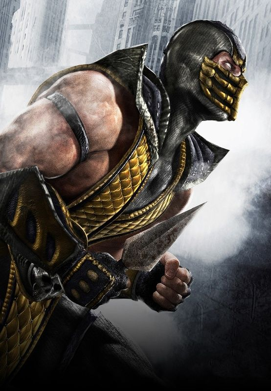 Get Over Here! Scorpion Mortal Kombat