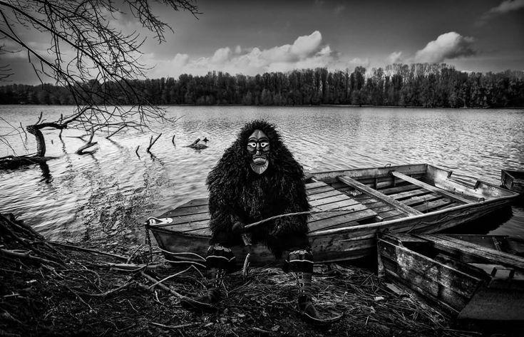 Busó by the river // Busó portrait series
