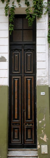 Buenos Aires, Argentina. Such a tall door!