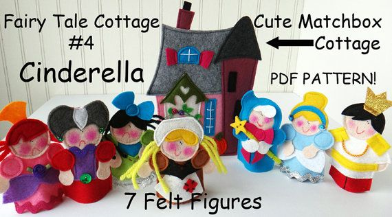FAIRY TALE MATCHBOX Cottage 4 Cinderella Pdf by LindyJDesign