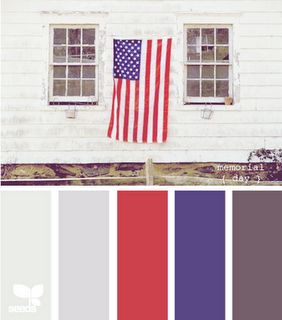 Memorial Day color palette inspiration