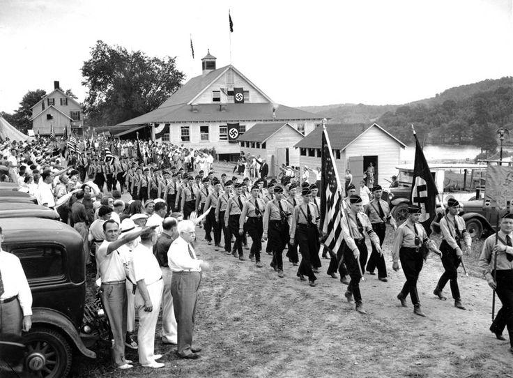 The American Nazis of the German American Bund, 1930s