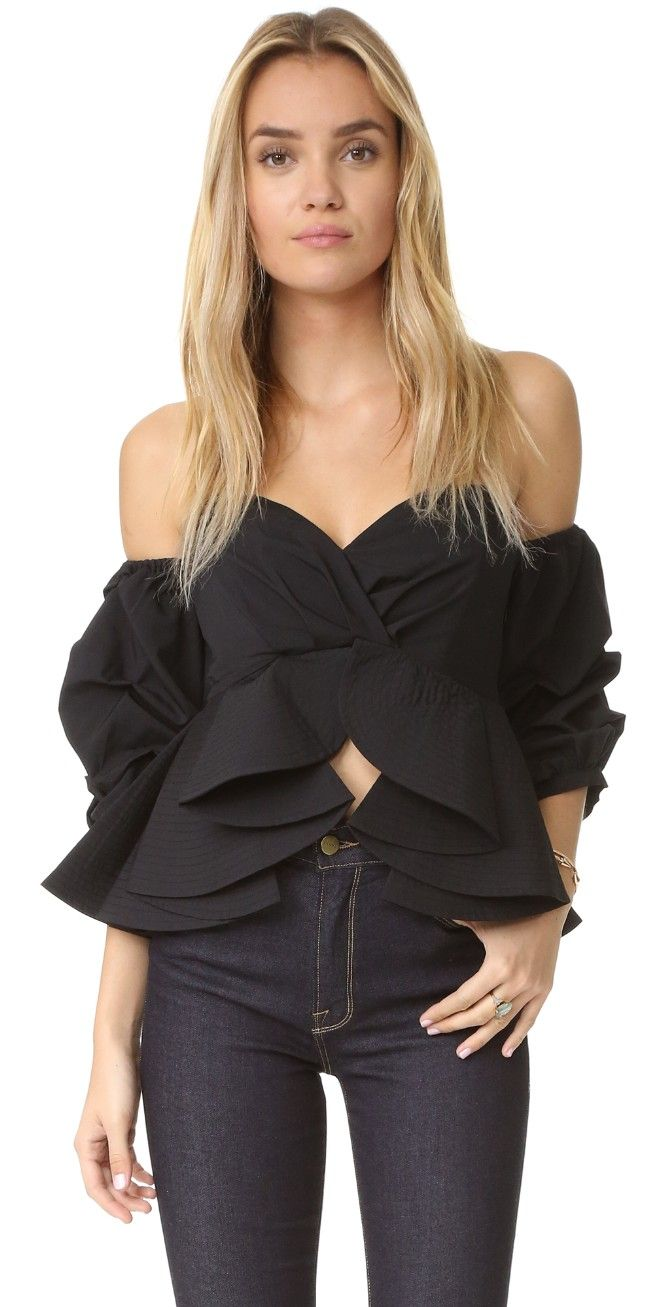 ONE by STYLEKEEPERS Reveal & Conceal Off Shoulder Top | SHOPBOP