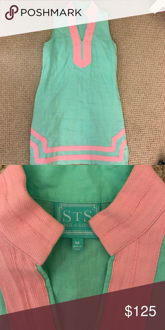 Women's Sail to Sable dress Green and pink Sail to Sable dress Sail to Sable Dresses