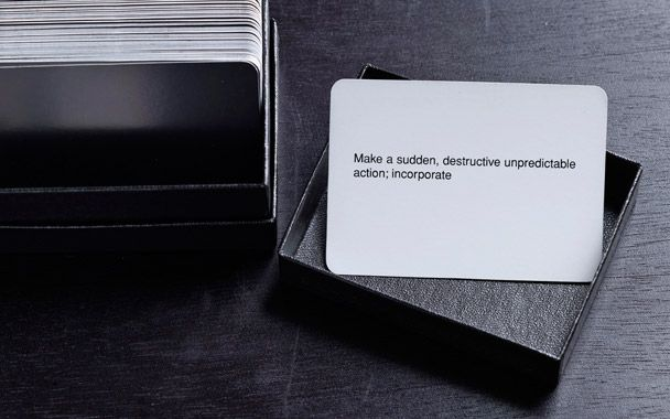 brian eno's oblique strategies cards | tomorrow started