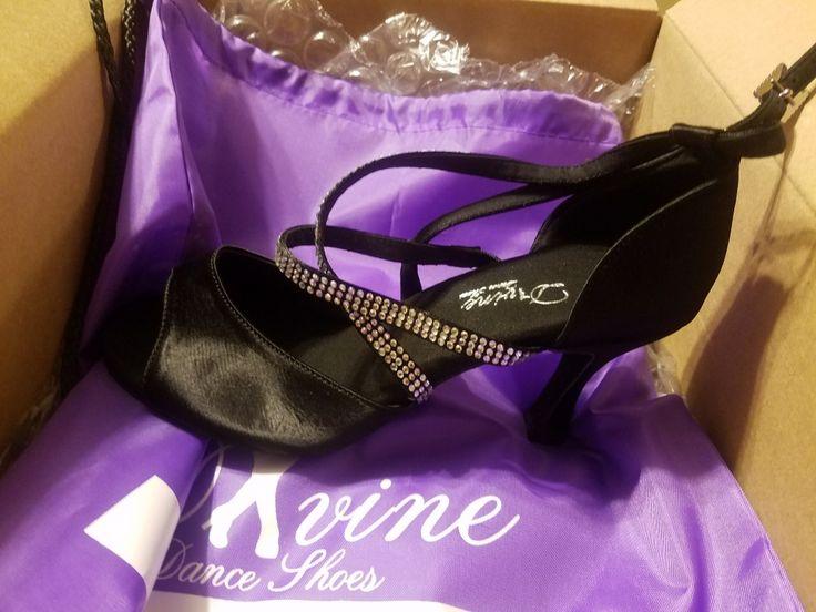 New Dance shoes from my favorite professional dancer Karen Aguilar
