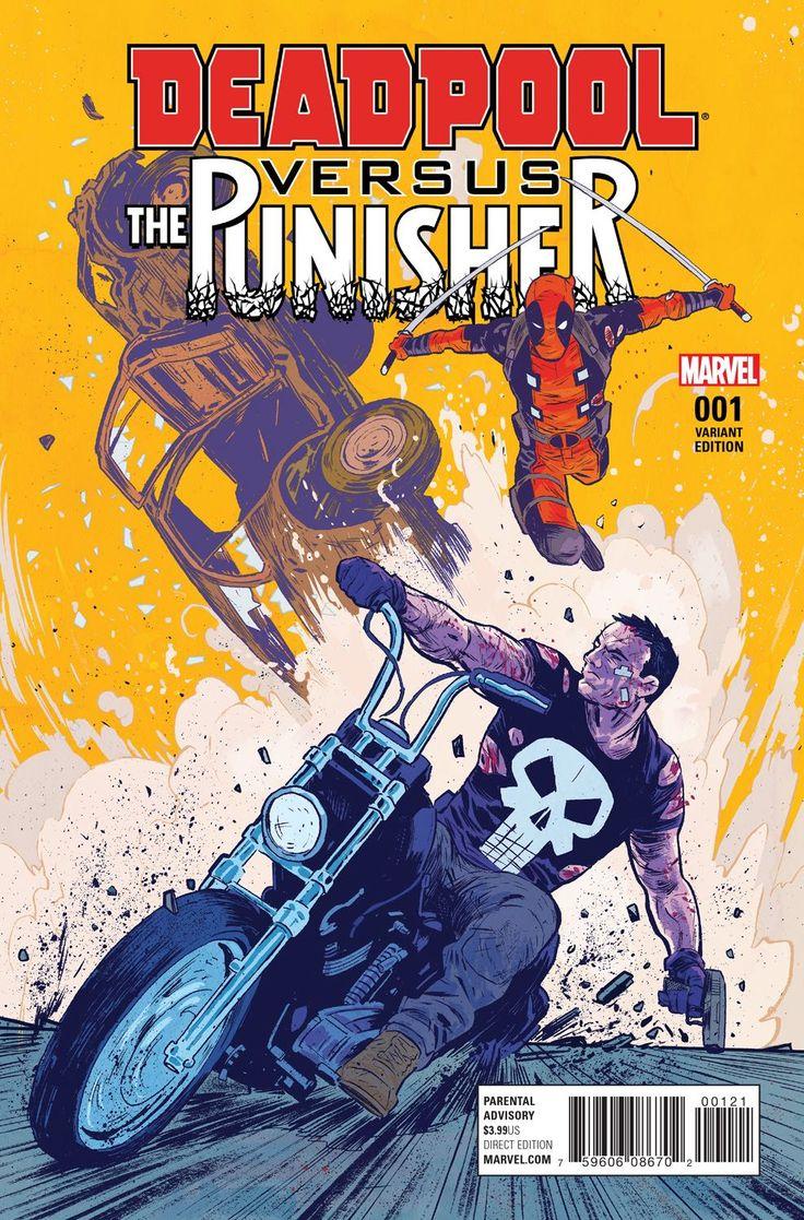 Deadpool vs. The Punisher #1 (Variant Cover) | Fresh Comics