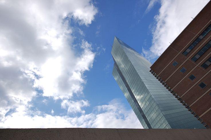 EZB-Neubau und Großmarkthalle Frankfurt