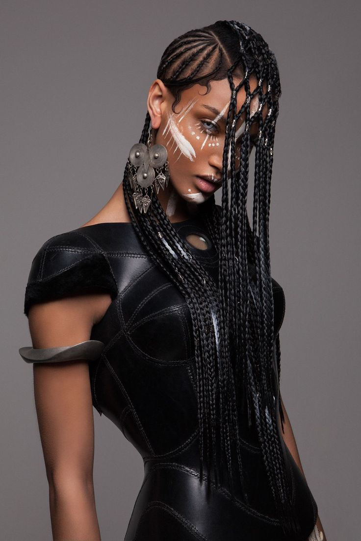 [Pics] These Stunning Futuristic and African-Inspired Hairstyles Won the British Hair Awards | winter 2016
