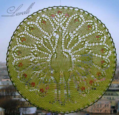 Knitting, Спицами Салфетки