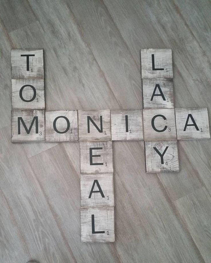 Rustic Wood Scrabble Tiles, Rustic Scrabble Tile, Hanging Scrabble, Wall Scrabble, Wall Art, Home Decor, Wooden Scrabble Tiles, Scrabble by RusticAndPipeDecor on Etsy
