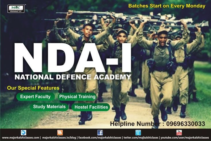 ‎NDA‬ -Major Kalshi Classes Pvt. Ltd. A Leading Training Academy In India. We have a remarkable history of making Officers in Indian ‪#‎Defence‬ Services