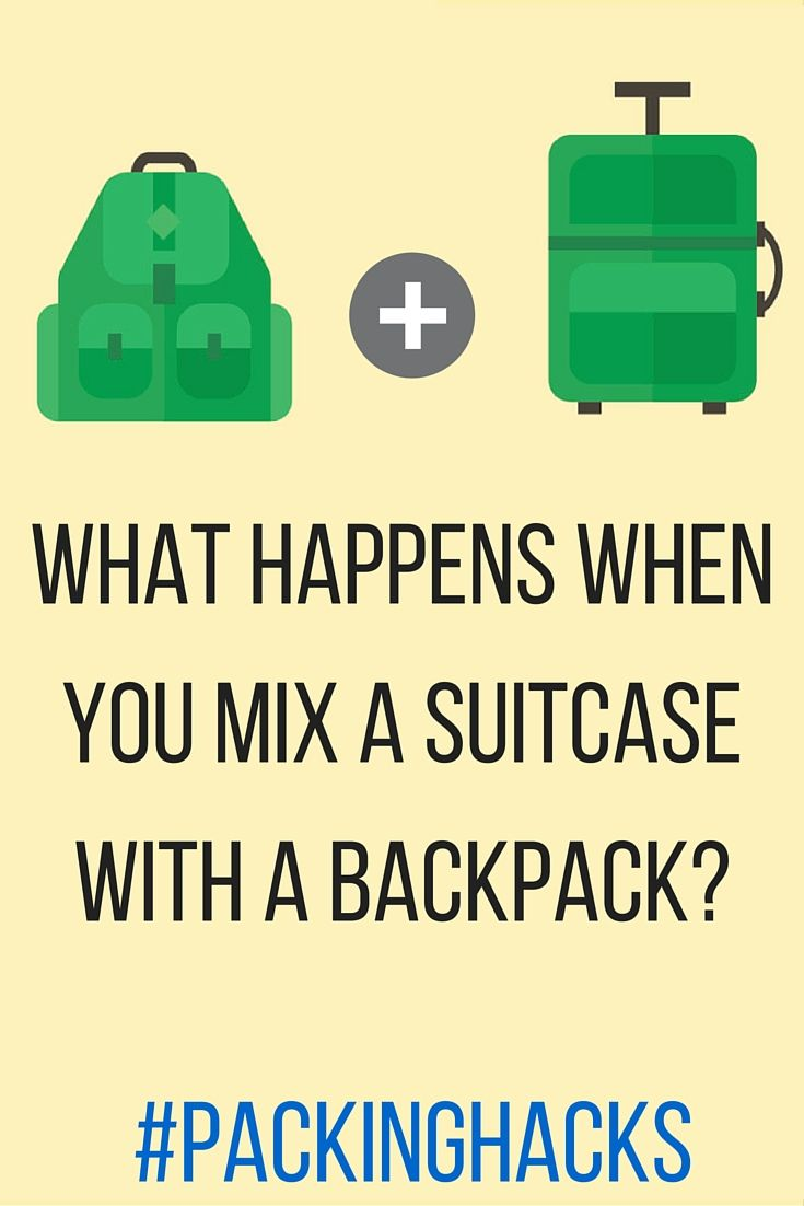Can a Hybrid Suitcase-Backpack Actually Do It All?