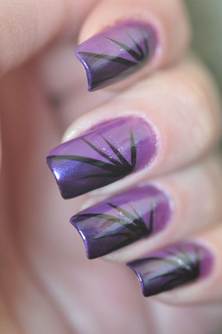17 Best Images About Yellow Purple Nail Art On Pinterest Nail Art Neon Yellow Nails And Yellow