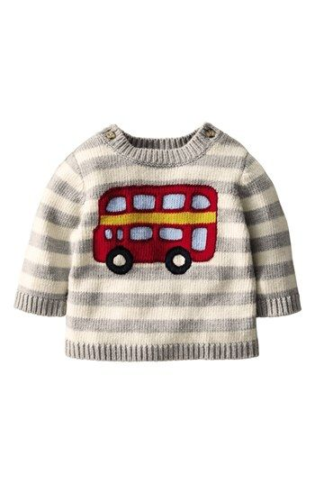 Mini Boden Sweater (Baby Boys) available at #Nordstrom