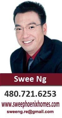 Swee Ng (Keller Williams Realty | Sonoran Living) Real Estate Professional in Phoenix, Ahwatukee, Chandler, Gilbert, East Valley and surrounding Maricopa county. I speak Mandarin and Cantonese.