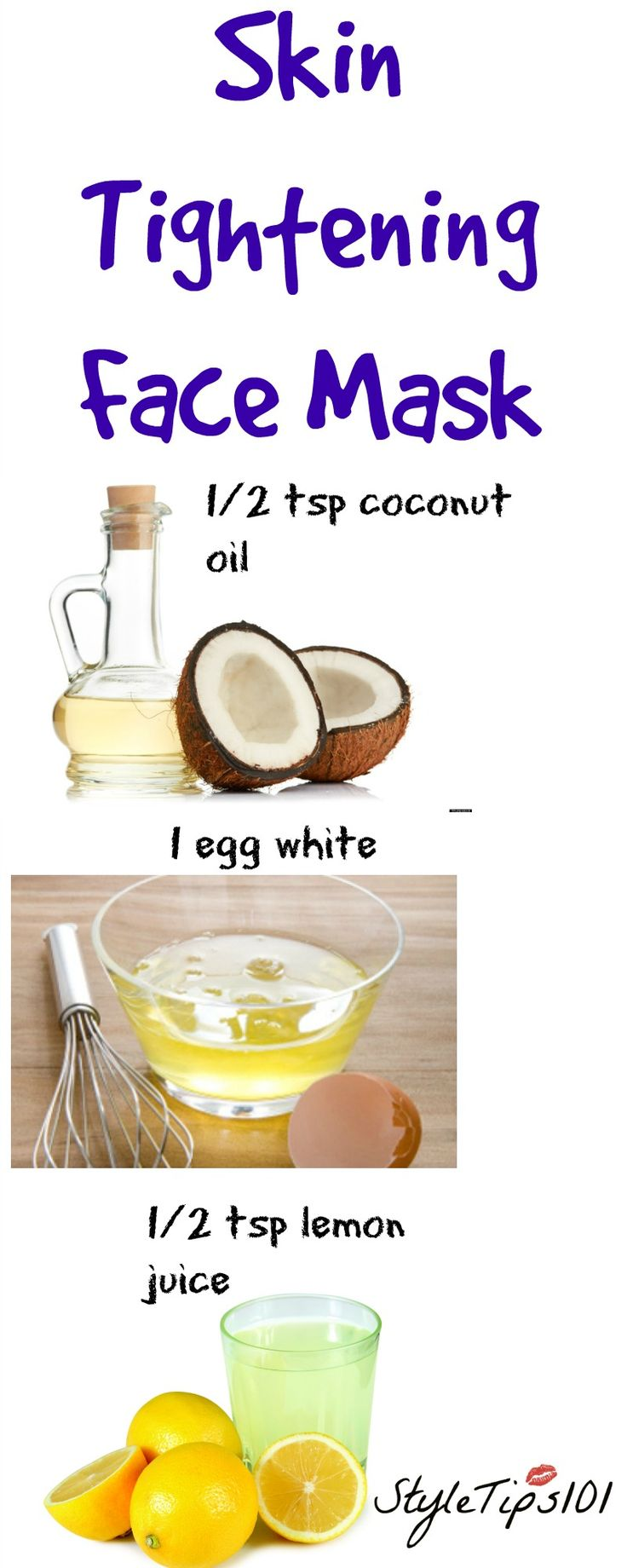This skin tightening face mask does WONDERS for oily, acne-prone, and aging skin. It's so easy to whip up because all you need are 3 ingredients you probably already have in your pantry! This skin tightening face mask uses coconut oil, egg whites, and lemon juice. Coconut oil soothes the skin, egg whites tighten, and… Read More »