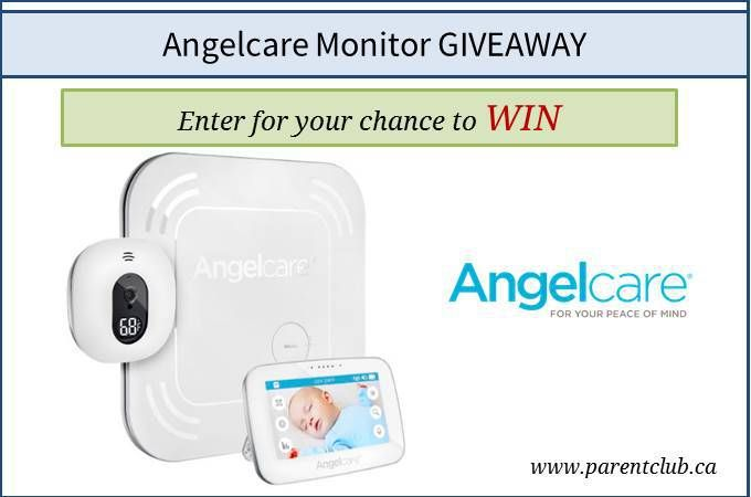 Angelcare Monitor Giveaway via www.parentclub.ca