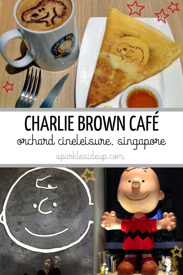 The Charlie Brown Café in Singapore