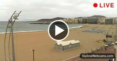 Las #Canteras, view of Playa Grande in the #Canary Islands