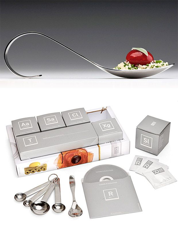 So I see chefs on all the cooking shows doing the molecular gastronomy, and this looks like a fun kit to experiment with!
