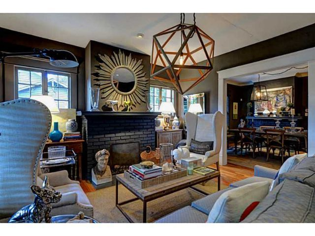 Living Room Eclectic Bungalow In The Heart Of Virginia Highlands #Atlanta  View All The Bungalows