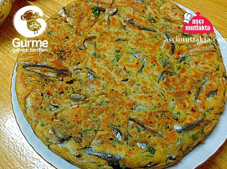 Tavada Hamsi Mücveri ( Kek tadında ) - Pratik Yemek Tarifleri. Gurme resimli kolay pratik Tavada Hamsi Mücveri ( Kek tadında ) nasıl yapılır yapılışı yapımı hazırlanışı