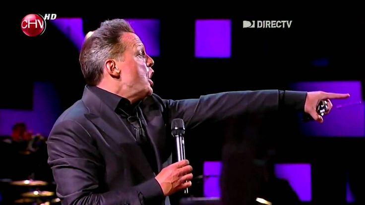 Luis Miguel - Te Necesito viña 2012 First Luis Miguel song