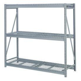 """Bulk Storage Rack Starter, 3 Tier, Wire Decking, 60""""Wx24""""Dx72""""H Putty by LYON WORKSPACE PRODUCTS. $345.95. Bulk Storage Rack Starter, 3 Tier, Wire Decking, 60""""Wx24""""Dx72""""H Putty Heavy gauge steel uprights and beams. Adjustable on 1-1/2"""" centers. 1650-3300 lbs. capacity per pair of beams. Weight Capacity based on evenly distributed load. 10,000 lbs. per upright assembly."""