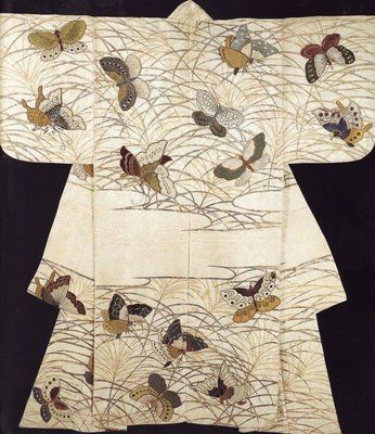 flutter... Butterflies... Japanese Kimono...
