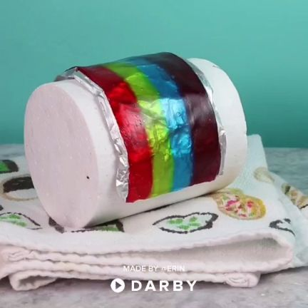 How to Make a Candy Rainbow Cake Topper #cakedecorating #vloggers #darbysmart #recipes #foodie #baking #caketoppers