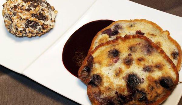 Buttermilch Pancakes mit Blaubeeren - Rosin