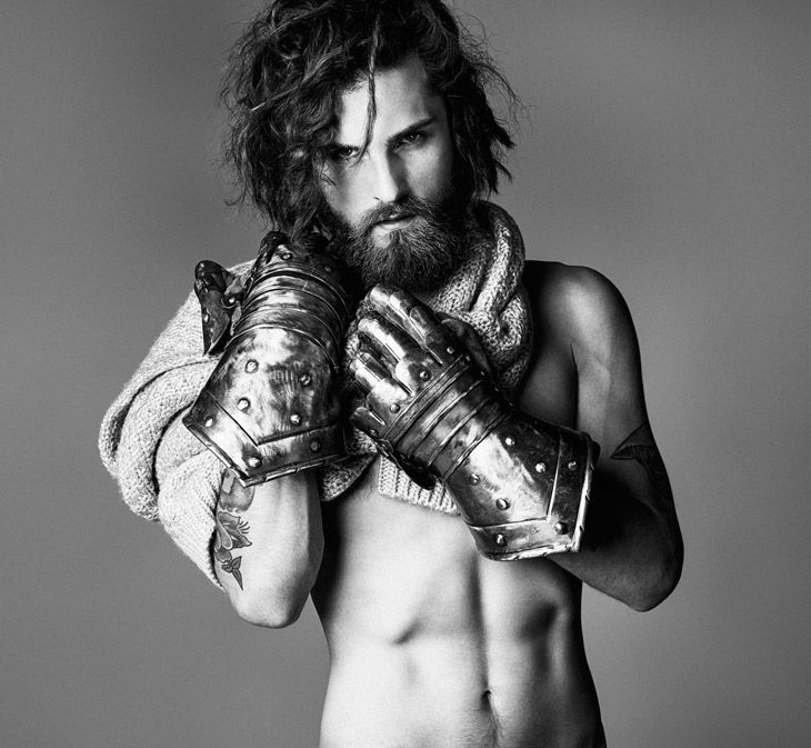 <3 This editorial has something for everyone. Fabian Nordstrom in Gentleman and Bohemian; photographer Joseph Cardo. styled by Donato Panucci. Make Up & Hair Enzo Lorusso