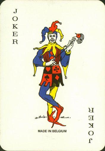 """Leonard Biermans S.A."" (Belgium)  standard joker for the Netherlands,  now printed  by ""Carta Mundi"""