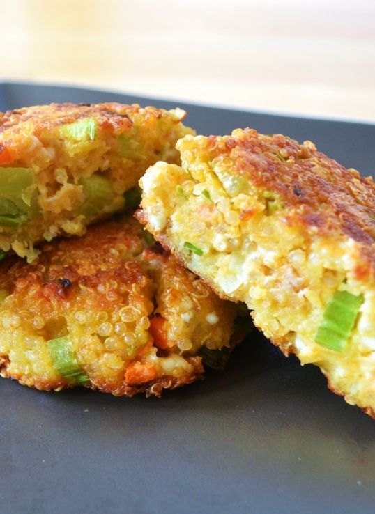 ... Quinoa and feta burger http://www.ibssano.com/low_fodmap_recipe_quinoa