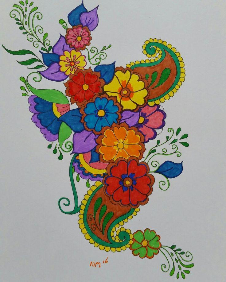 """Mijn wonderlijke wereld """" Bloemen"""