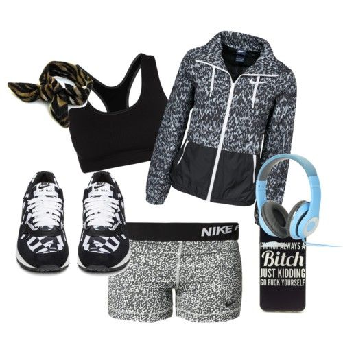 Sport suit in black nike