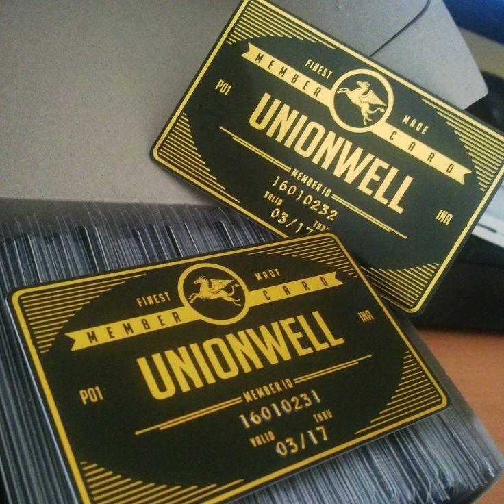 Kartu member card UnionWell